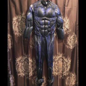 BLACK PANTHER Light Up Halloween Kids Costume